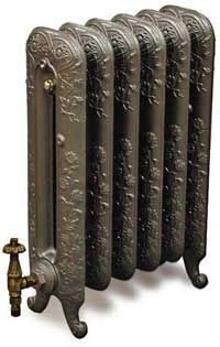Obviously not a colour match but very beautiful victorian style radiators