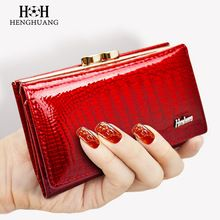 2017 Women Wallet Genuine Leather High Quality Hasp Coin Purse 100% Cowhide  Fashion Female Clutch Purses Card Holder Wallets //FREE Shipping Worldwide //