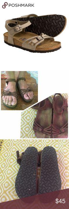 Bali birkenstocks Bali suede birkenstocks in great condition. Birkenstock Shoes
