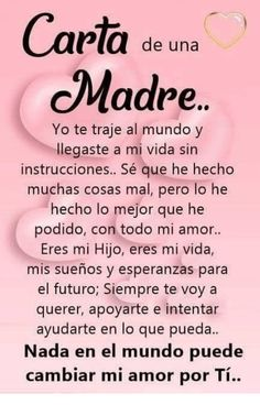 ideas birthday girl quotes daughters sons for 2019 Mommy Quotes, Baby Quotes, Love Quotes, Amor Quotes, Mother Daughter Quotes, Mother Quotes, Spanish Inspirational Quotes, Spanish Quotes, Message To My Son