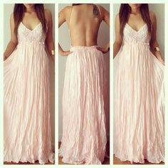 Sexy Backless V-Neck Spaghetti Straps Lace Prom Dresses Chiffon Blush Pink  Prom Dresses uk a4cacbf4b6