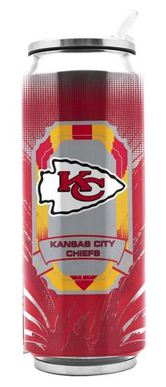 Go Chiefs Kansas City Chiefs Football, Duck House, Sports Fanatics, Kansas City Missouri, Lemonade, Nfl, Stainless Steel, Canning, Iced Tea