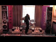 Acoustic Zen loudspeakers, Triode Corp of Japan amps, Triangle Art turntables, CES 2015 - YouTube