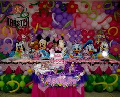 Torta y Decoración de #MinnieMouse