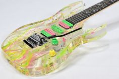 Ibanez Steve Vai JEM 20th Anniversary Limited Edition Used Guitar F/S EMS…
