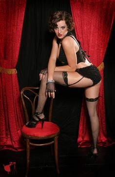 Cabaret themed photoshoot  from Through the Looking Glass Photography