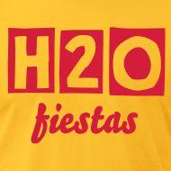 Spanish slang  :)    aguafiestas=party pooper