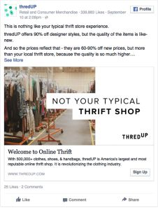 thredup Local Thrift Stores, Best Facebook, Brand You, Thrifting, Ads, Inspiration, Design, Biblical Inspiration, Budget