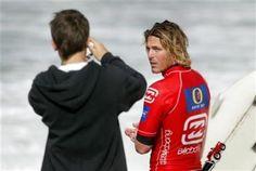 Andy Irons during the Billabong Pro Mundaka surf