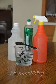 Cottage Sweet Cottage: Homemade All Purpose Cleaner