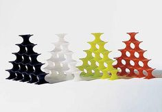 This would make an awesome hostess gift: Kartell - Infinity Bottle Holder 7680 at 2Modern $68.80