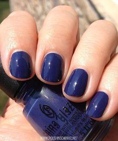 Nail Polish - China Glaze Queen B #nails #color #blue