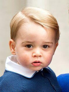 Prince William Brings Prince George to Meet Baby Sister at Hospital - Us Weekly