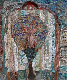 Wishing Tree Mosaics by Ilana Shafir, integrated with Inspiration Pieces by Leah Shafir Zahavi