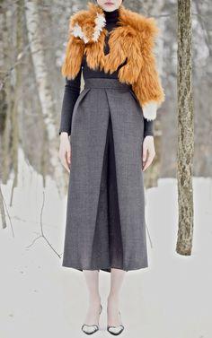 Vika Gazinskaya Fall/Winter 2013 Trunkshow Look 8 on Moda Operandi