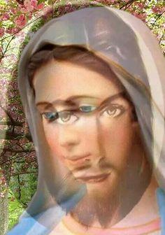 Mary Jesus Mother, Jesus Mary And Joseph, Blessed Mother Mary, Jesus And Mary Pictures, Pictures Of Jesus Christ, Spiritual Pictures, Religious Pictures, Beautiful Love Pictures, Beautiful Gif