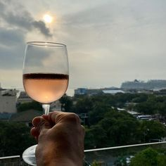 Happy hour! I miss this. . . . #happyhour #sunset #rosé #wine Happy Hour, White Wine, Alcoholic Drinks, San, Sunset, Photo And Video, World, Instagram, White Wines