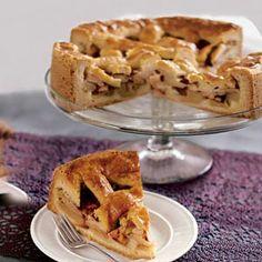 Traditionele Hollandse appeltaart -  Traditional Dutch apple pie