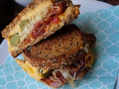 Grilled Cheese Sandwich, Say Cheese!