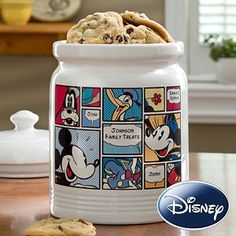 No way! You can personalize a Disney Cookie Jar with your own names! The design has Mickey Mouse, Minnie Mouse, Donald Duck and Goofy and it's only $54.95 ... great housewarming gift idea or a great gift for any Disney Fan (like me!!)