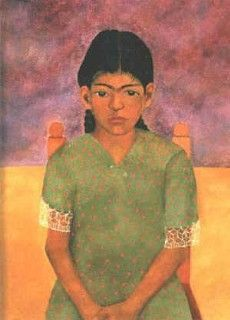 Portrait of Virgina, Retrato de Virginia, Frida Kahlo, C0037