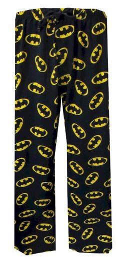 Amazon.com: DC Comics Batman Classic Logo Lounge Pant for men: Clothing