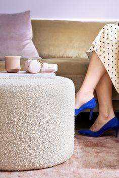 Rosa Sofa, Foot Rest, Maya, Ottoman, Cream, How To Make, Home Decor, Design, Live