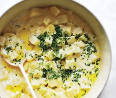 Creamy Chive Potatoes