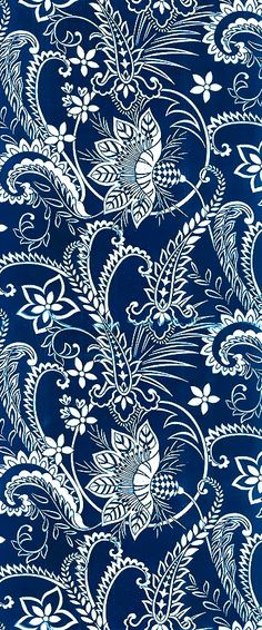 I pinned this image because this image represents a blue and white flowering, peddle like pattern. There is a repetition of each flower, each peddle, sprout etc across this image, creating a pattern.