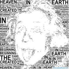 Albert Einstein Turn your words into art! www.wordificator.com #albert #einstein
