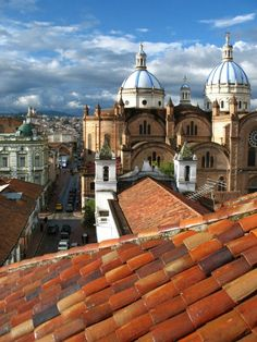 A Roof with a View - Cuenca Ecuador  #city #roof #cuenca #ecuador #photography