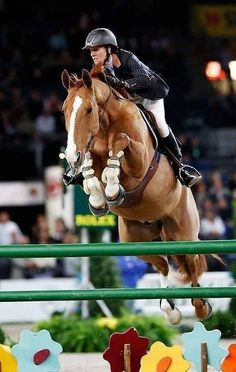 Look closely at the horse... I have no words/Luciana Diniz (b 11/10/70) Brazilian born Portugese equestrian at Stuttgart 2010 on AsTaro. akl