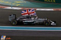 Lewis Hamilton 2014 Formula One World Champion 🇬🇧 Lewis Hamilton Formula 1, Abu Dhabi Grand Prix, F1 Motorsport, Amg Petronas, Formula 1 Car, F1 Racing, Lamborghini Aventador, Mercedes Amg, Race Cars
