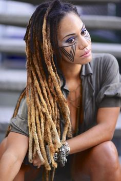 Fresh Dreadlocks Hair Color