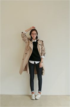 Love Vail Trench Coat