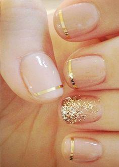 Sparkle and Shiny Nail Art