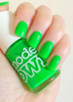 Toxic Apple - Models Own nail polish swatch by  #dazygraves
