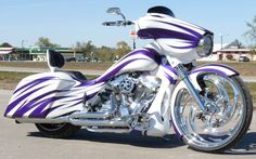 custom motorcycle bagger paint jobs - Google Search