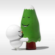 Alessi kerstfiguur Hug Tree AMGI16 door Massimo Giacon