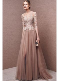 b629b218a4563 Evening dresses with sleeves