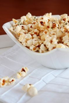 Did you know that popcorn has more protein than any other cereal grain, more iron than spinach, more phosphorous than pretzels, and almost as much fiber as bran flakes? Yeah, me neither. I already knew that popcorn was a healthy snack choice to make because it so low in calories, but wow! With impre