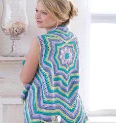 Crochet Circular Vest / Jacket 10 FREE Crochet Patterns - DIY & Crafts