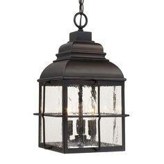CanadaLightingExperts | Lanier - Three Light Outdoor Hanging Lantern