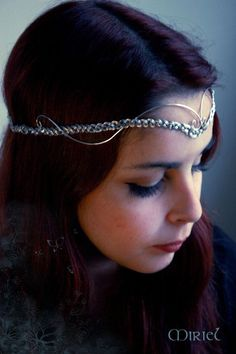 Bixby's style for sure! silver circlet. by DenyMacMart