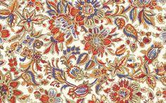 Kwiatowe, Wzory, Tekstura