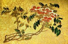 伊藤若冲 Ito Jakuchu 花丸図 浜茄子(ハマナス) Hanamaru-zu(Various Flowers) Rosa rugosa