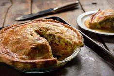 Russian salmon pie recipe (Photo: Karsten Moran for The New York Times)