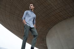 Outlier - 60/30 Chino (Woven in Switzerland, Image)