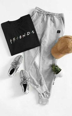 (dufan day) mel's dress Lazy Day Outfits, Sporty Outfits, Outfits For Teens, Trendy Outfits, School Outfits, Spring Outfits, Winter Outfits, Lazy Day Makeup, Sweatpants Outfit Lazy