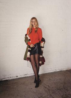 Gigi Hadid By Tyrone Lebon For Topshop Fall Winter 15-16